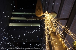 横浜駅東口 クリスマスイルミネーションが「はまテラス」で開催中!無数の星の幻想的な世界を演出
