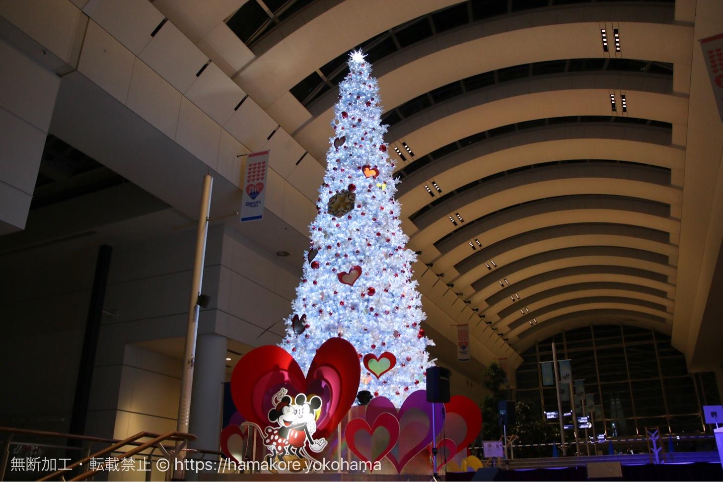 ミッキーマウス&フレンズをテーマにしたクリスマスツリー