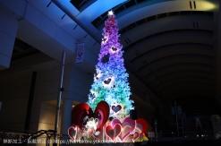 2017年 クイーンズスクエア横浜のクリスマスイルミネーションはディズニー仕様!各スポットを紹介