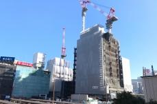 2017年11月 横浜駅西口 駅ビル完成までの様子 [写真掲載]