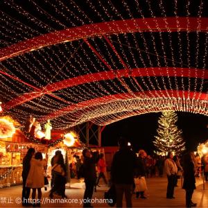 2017年 横浜赤レンガ倉庫で「クリスマスマーケット」が点灯!ドイツ・ケルンの世界観を再現