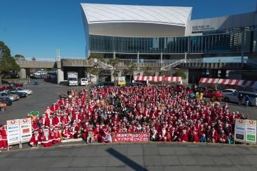 サンタが大集合!横浜サンタプロジェクト2017が12月9日に開催