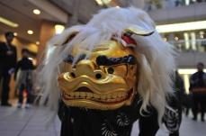 2018年 ランドマークプラザ・マークイズみなとみらい 1月2日より新春セールを同時開催!獅子舞の練り歩きも