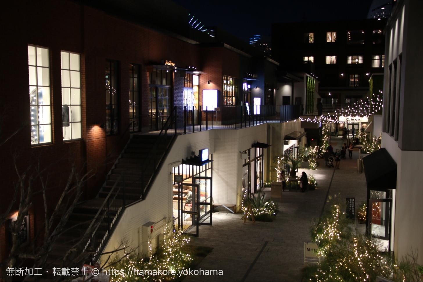 MARINE & WALK YOKOHAMA クリスマスイルミネーション