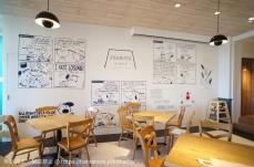 横浜みなとみらいの「ピーナッツ ダイナー」店内が想像以上にスヌーピーで可愛い!限定グッズも販売