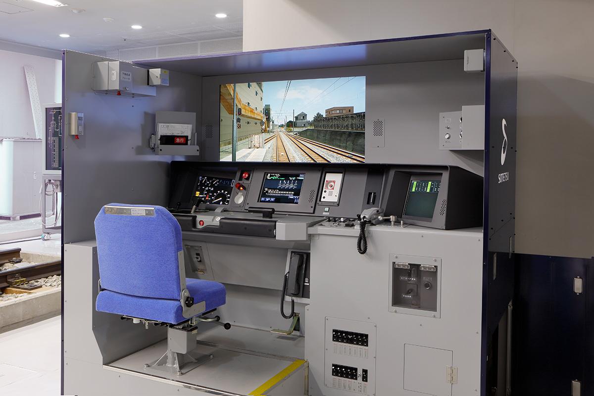 相鉄線の運転士が使う「実物」のシミュレーター