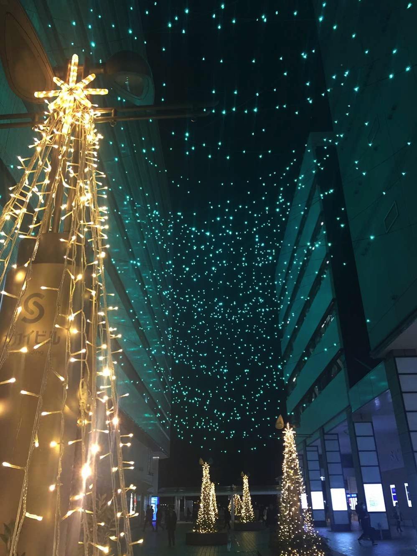 横浜駅東口 星降るテラスの開催期間が2018年1月8日に延長!イルミネーションもバージョンアップ
