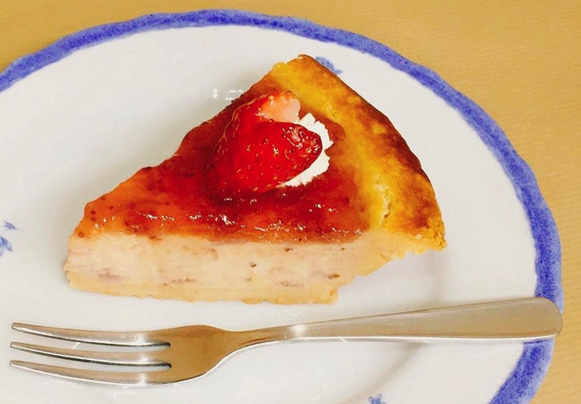 ガトーよこはま イチゴチーズケーキ 480円