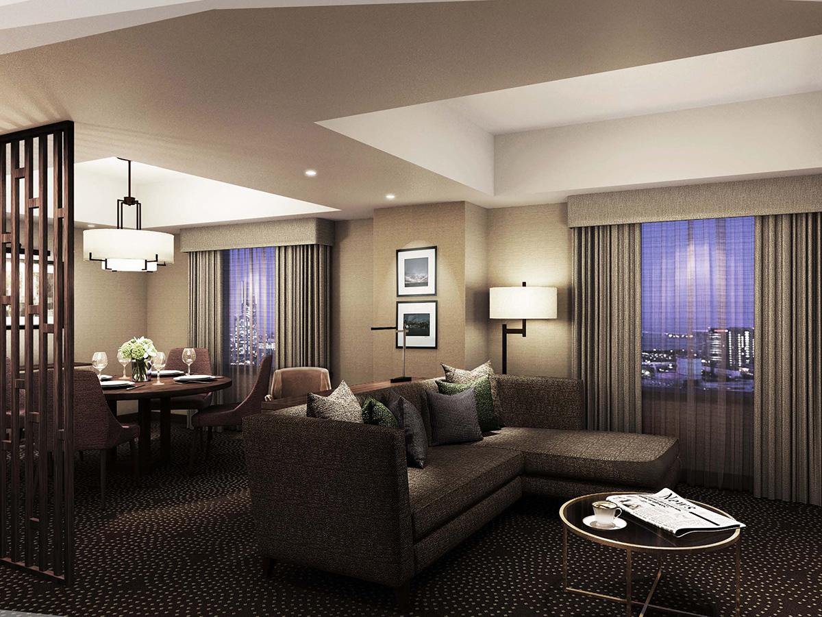 横浜ベイシェラトン ホテル&タワーズ 客室第二期改装を着工!2018年3月23日オープン