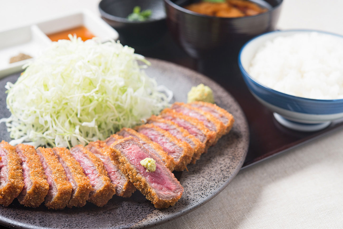 元祖牛カツ膳 1,380円