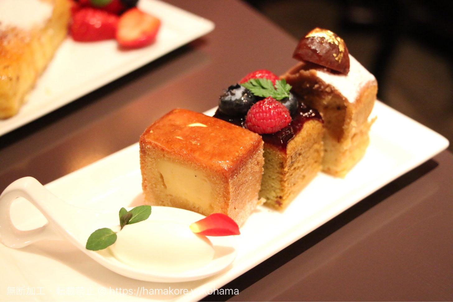 フレンチ&ケーキセット パウンドケーキ