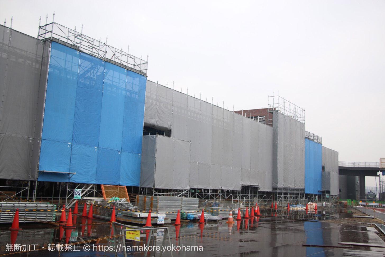 羽沢横浜国大駅(2018年1月17日撮影)