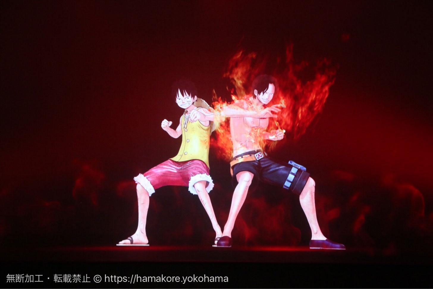 横浜 DMM VR THEATERでONE PIECE、完全オリジナルストーリーを上映!屋外展示は無料