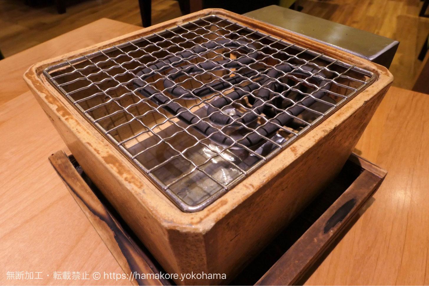 コメダ和喫茶「おかげ庵」あざみ野ガーデンズ店で団子と餅を焼く