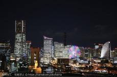 横浜マリンタワーの夜景も侮れない!みなとみらいの夜景が想像以上に美しい