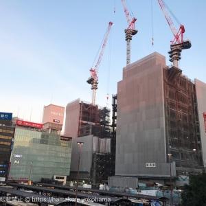 2018年1月 横浜駅西口 駅ビル完成までの様子 [写真掲載]