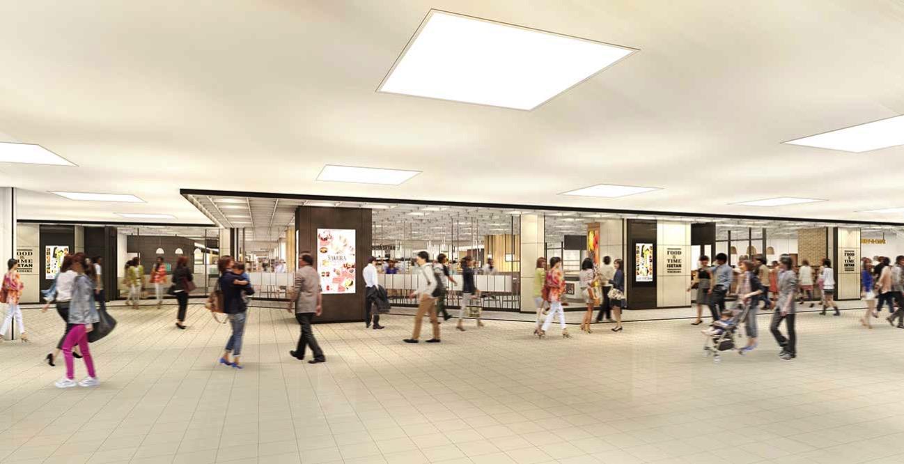 横浜駅 ジョイナスに「FOOD&TIME ISETAN YOKOHAMA」が2018年3月に新オープン!