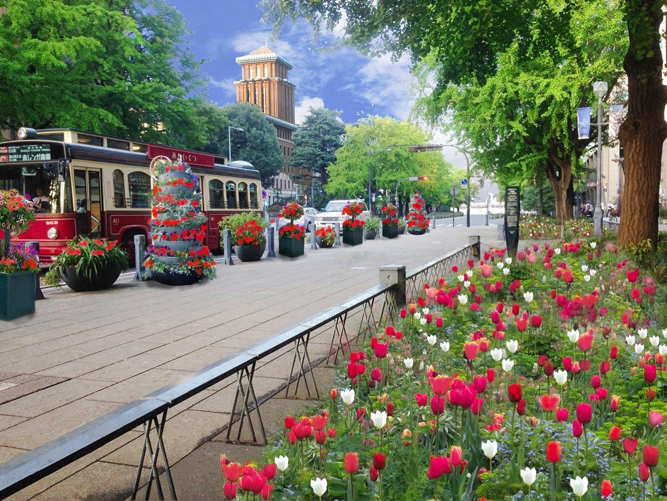 ガーデンネックレス横浜 2018が3月24日より開催!お帰りガーデンベア!