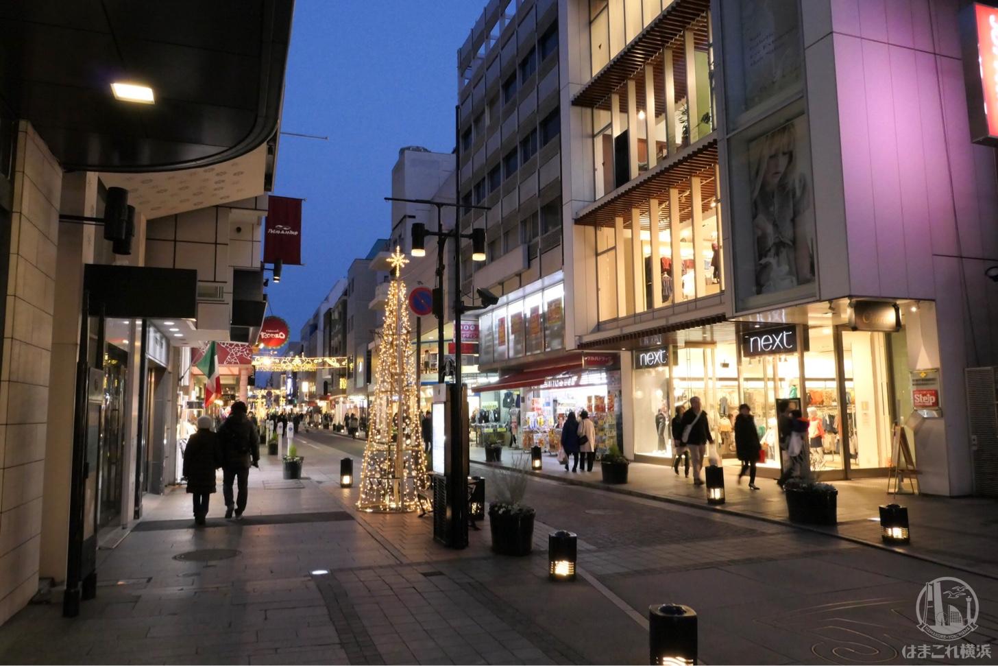 プリバティの道中 元町商店街