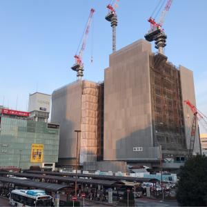2018年2月 横浜駅西口 駅ビル完成までの様子 [写真掲載]