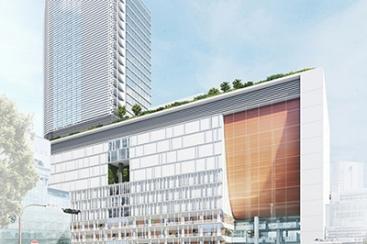 横浜駅西口 駅ビルは2020年開業予定!完成イメージに期待膨らむ