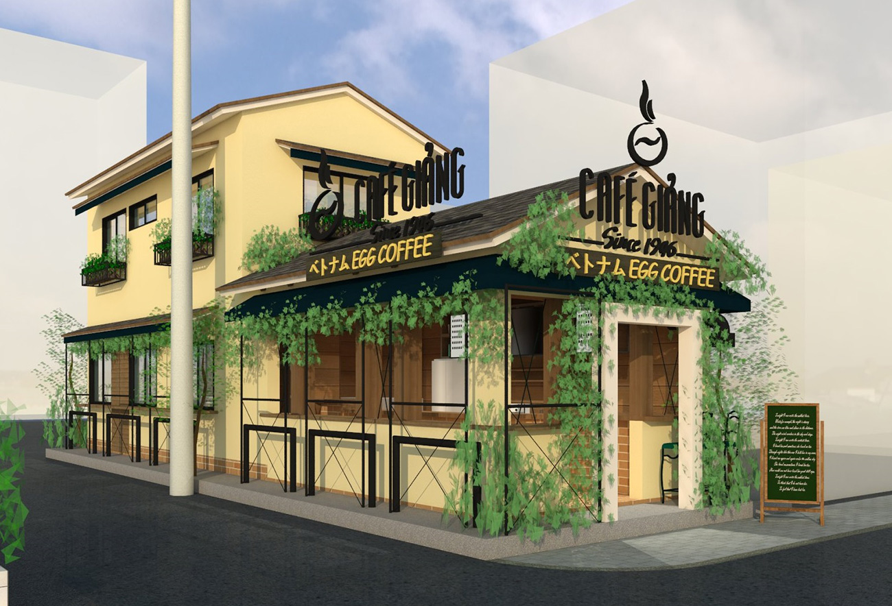 カフェ ジャンが横浜のオープン!日本初上陸のベトナムで人気のエッグコーヒー発祥店