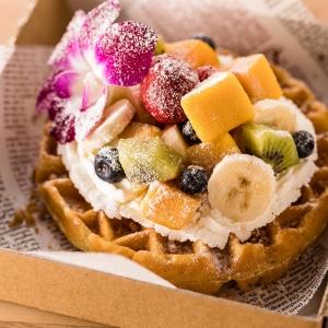 ハワイアンワッフルメレンゲが横浜赤レンガ倉庫にオープン!パンケーキ メレンゲのワッフル専門店