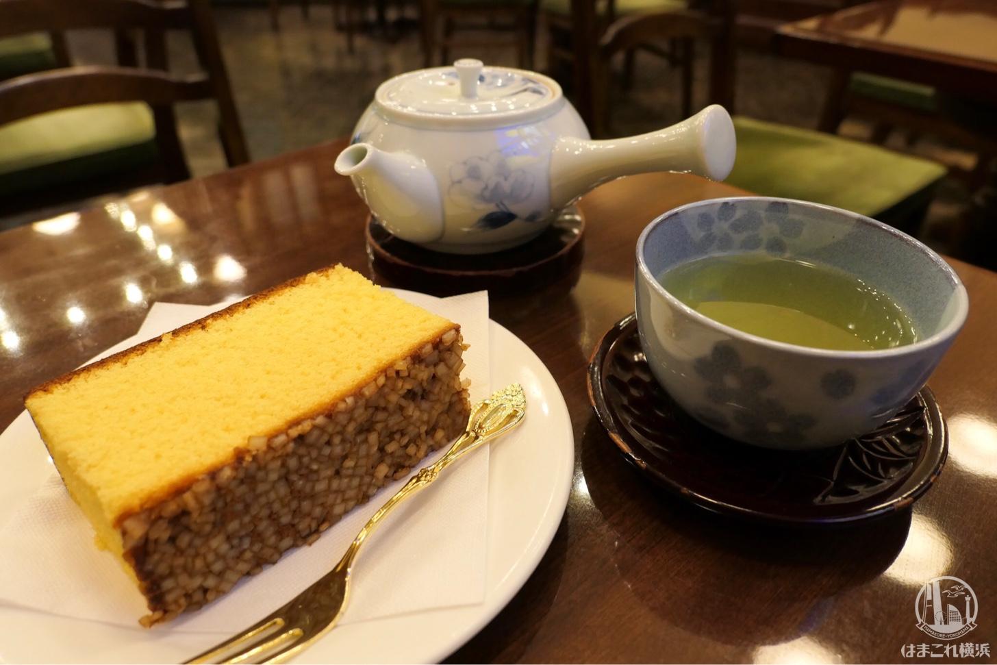 文明堂のカフェ「文明堂茶館ル・カフェ」で極上金カステラを食べて来た!関内の隠れ家空間