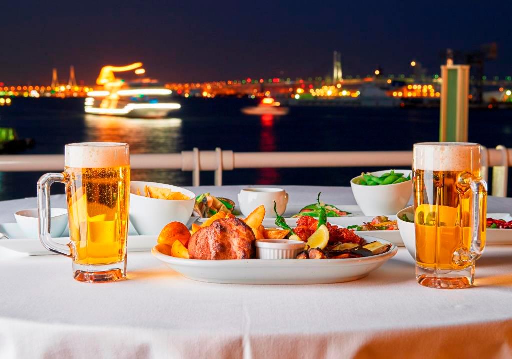 2018年 海の見えるビアガーデン「はまビア!」が6月より開催!人気ホテルの絶景テラス