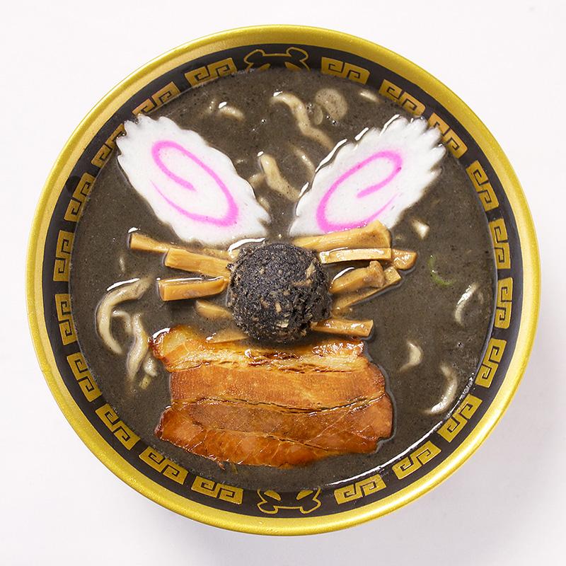 新横浜ラーメン博物館 7種のブラックパンダラーメンを提供!映画クレヨンしんちゃんとコラボ