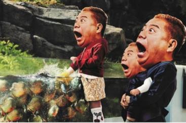 横浜・八景島シーパラダイス 日本初、ピラニア餌付け ヤバいよヤバいよアトラクションを開始