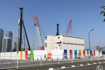 横浜アンパンマンミュージアム 移転に向けて一歩前進!移転先にアンパンマンの囲い