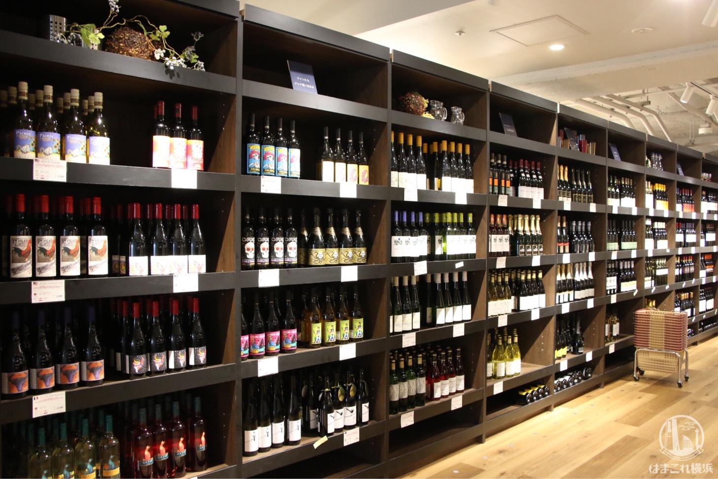ミッケマルシェ 180種類以上のワイン