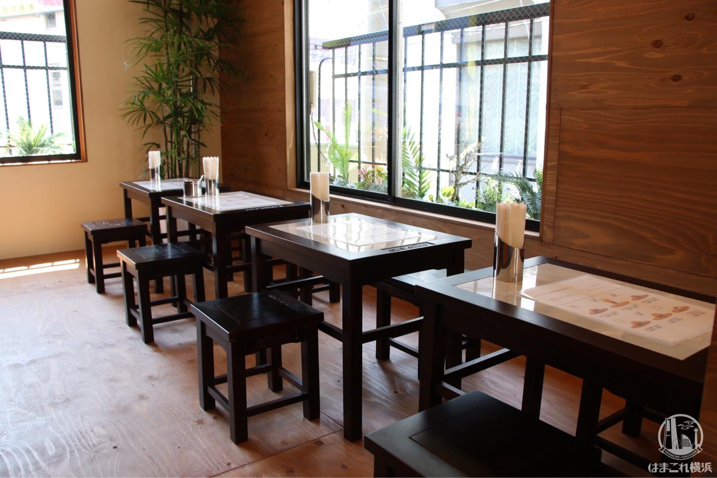 横浜中華街「カフェ ジャン」内観