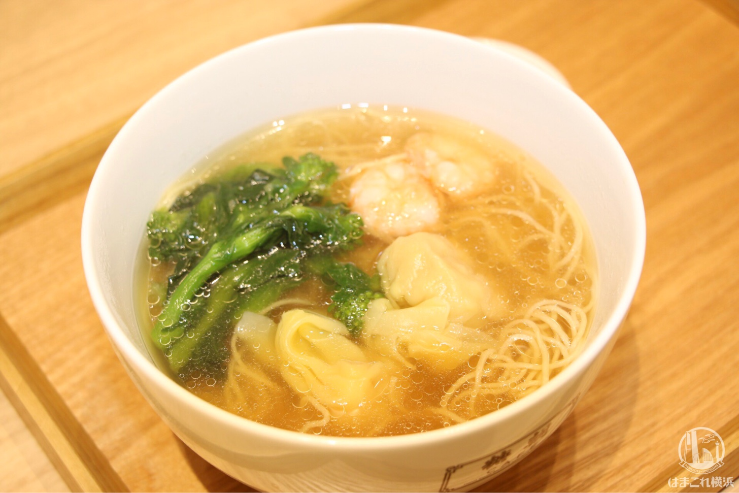 海老ワンタン香港麺