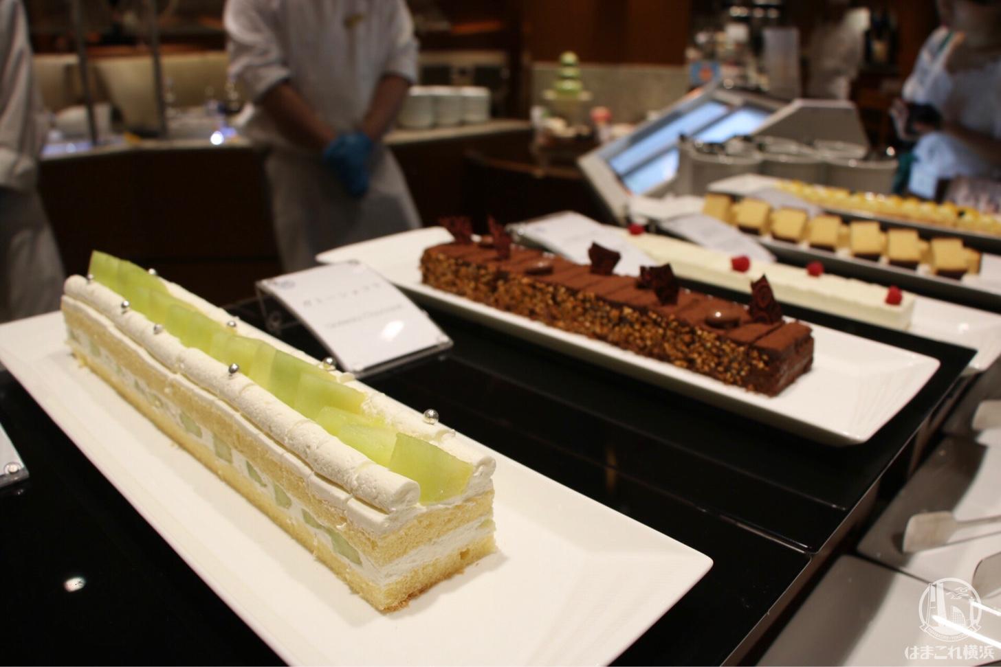 熊本メロンのショートケーキ