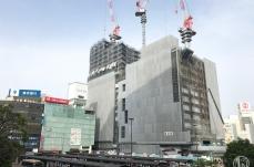 2018年5月 横浜駅西口 駅ビル完成までの様子 [写真掲載]