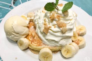 横浜 ハワイアンカフェ「ハレノヘア」でハワイアンライブ見ながらパンケーキを堪能!