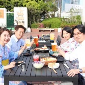 2018年 横浜高島屋屋上「ファーマーズビアガーデン」は新鮮野菜揃うビアガーデン