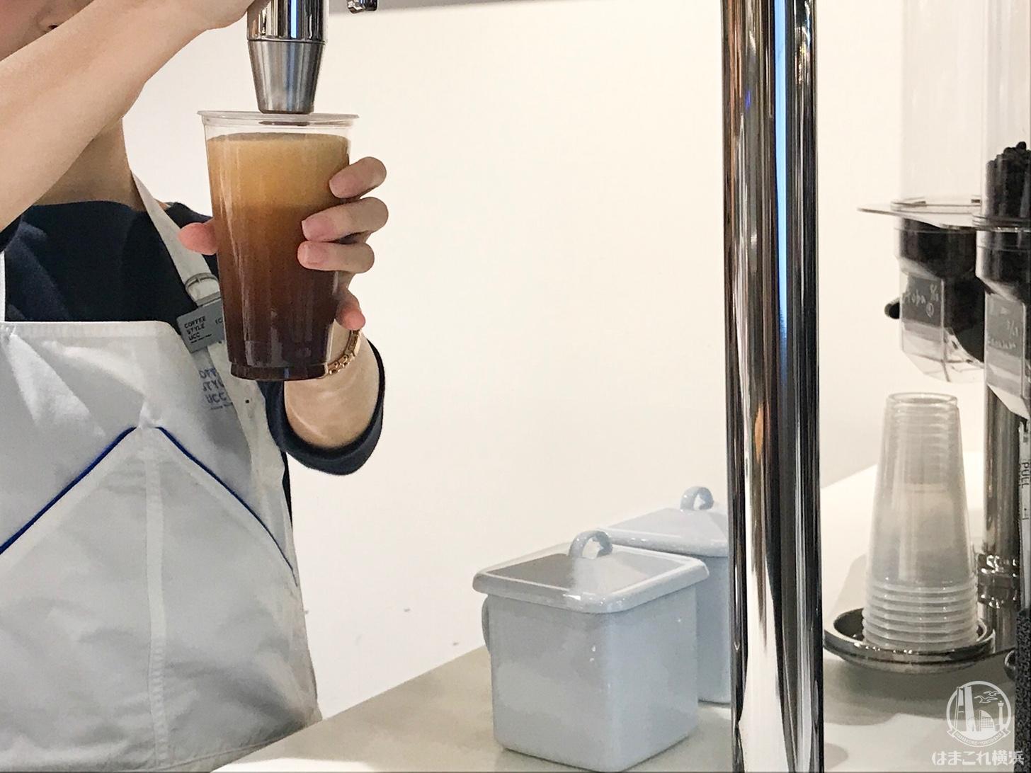 泡コーヒー アイスブリュードコーヒー サーバー