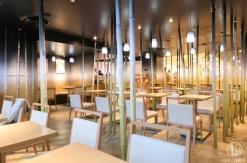 横浜駅ジョイナス「ナナズグリーンティー」は竹のオブジェ広がるユニーク和カフェ