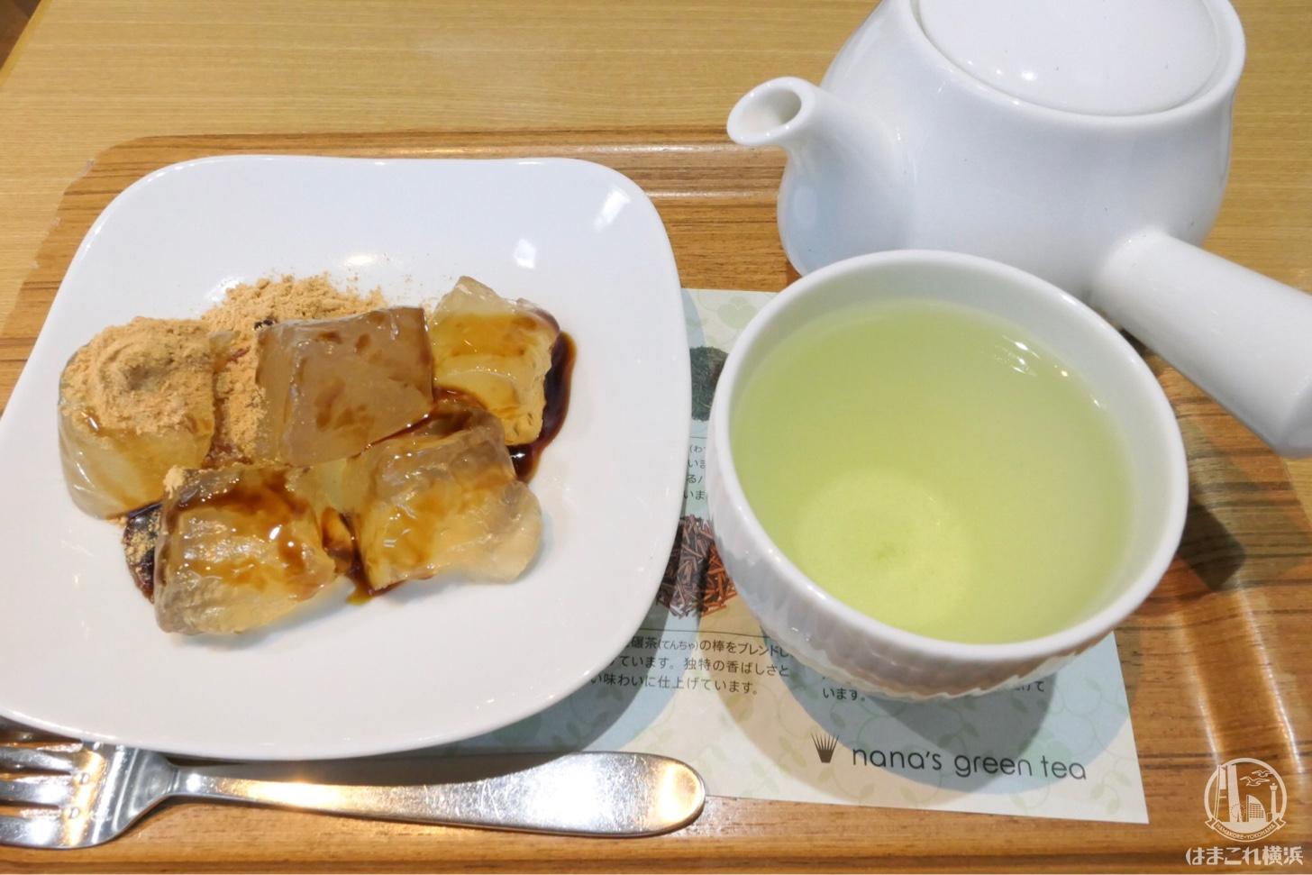 宇治抹茶とわらび餅