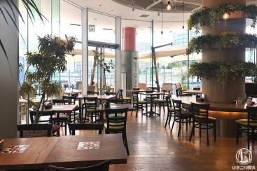 アースカフェ 横浜 朝の時間がお洒落で静かで居心地満点!チキンサンドとタピオカドリンク