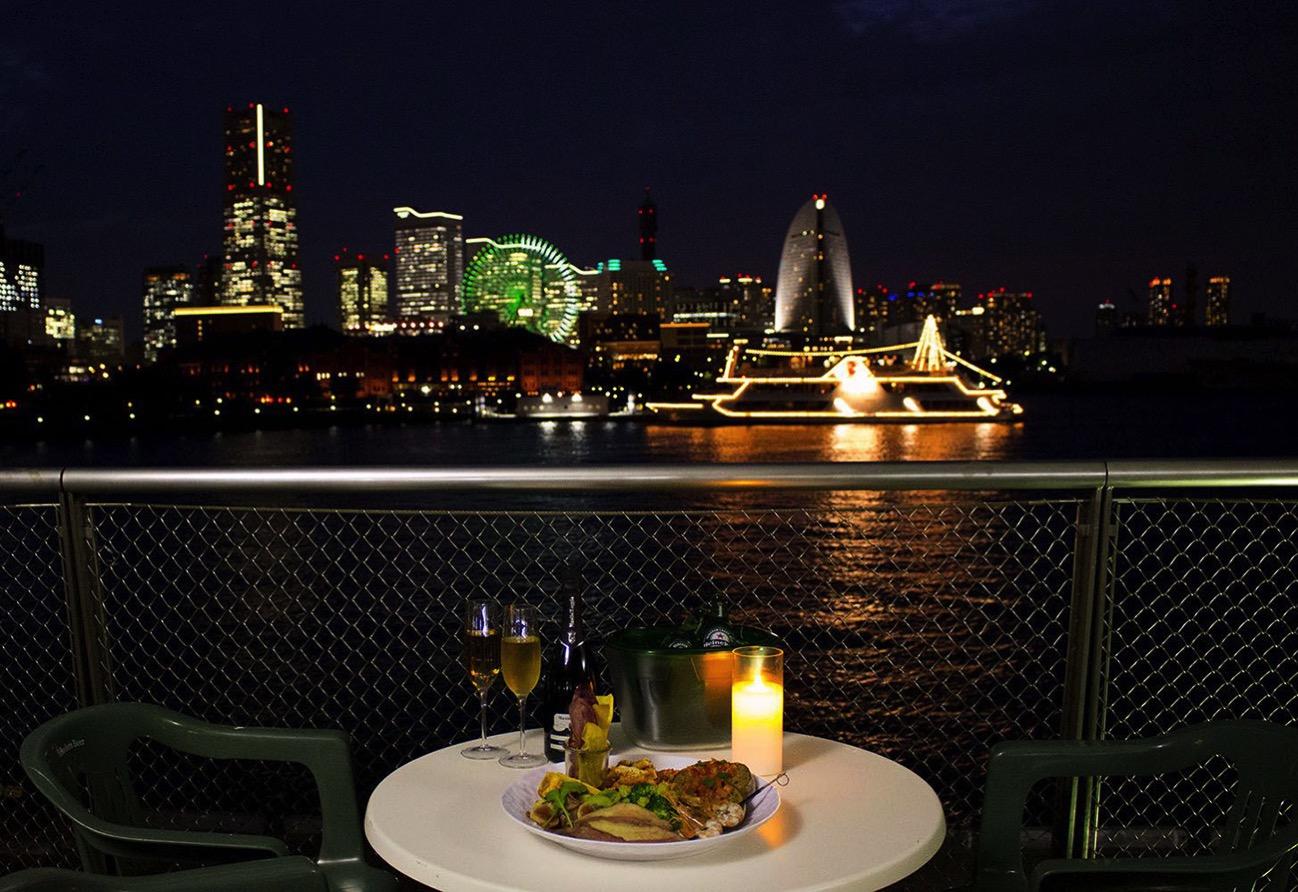 横浜港大さん橋 ビアガーデン