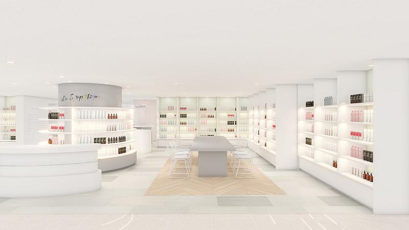 横浜高島屋に体験型の美容編集売場「ベルサンパティック」が誕生!UCC直営のカフェも