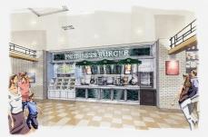 フレッシュネスバーガー ベーカリー併設の新業態を横浜に7月オープン マークイズ みなとみらい