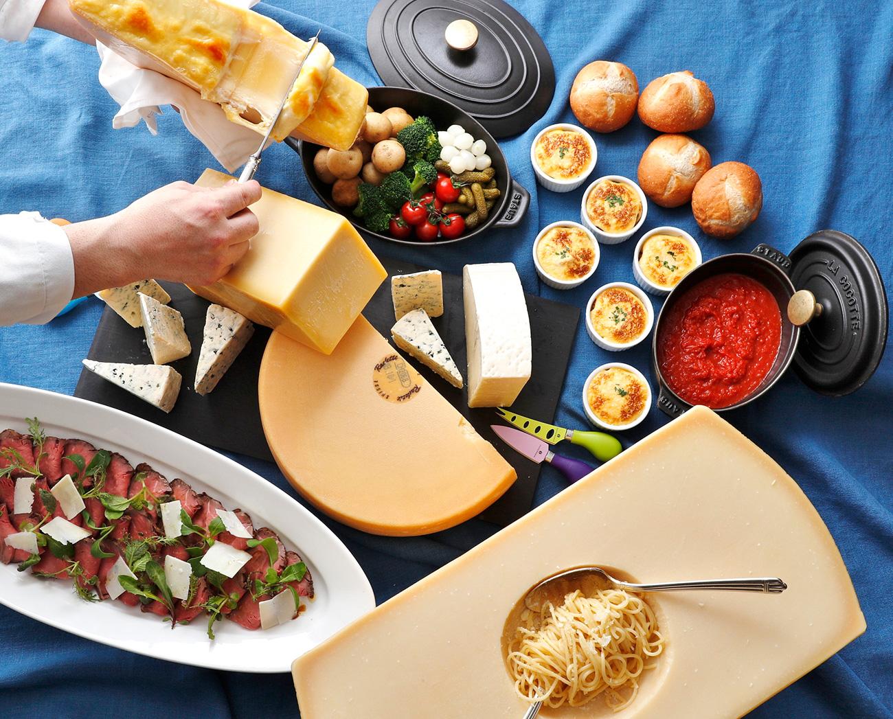 ホテルニューグランド、チーズがテーマのビュッフェ「チーズ チーズ チーズ」を開催!
