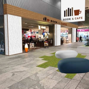マークイズ みなとみらい くまざわ書店と新エリア「BOOK&CAFE」を同時オープン