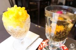 楊貴妃カフェ シノワ 横浜中華街 花開く上品な工芸茶とお洒落スイーツに大満足