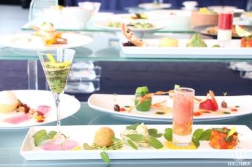 横浜のインターコンチネンタル ホテル ベジタリアンメニューを通年提供